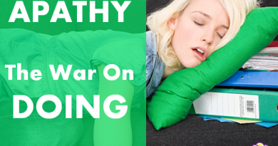 Apathy and the war on doing