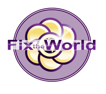 Fix the World Facebook Logo