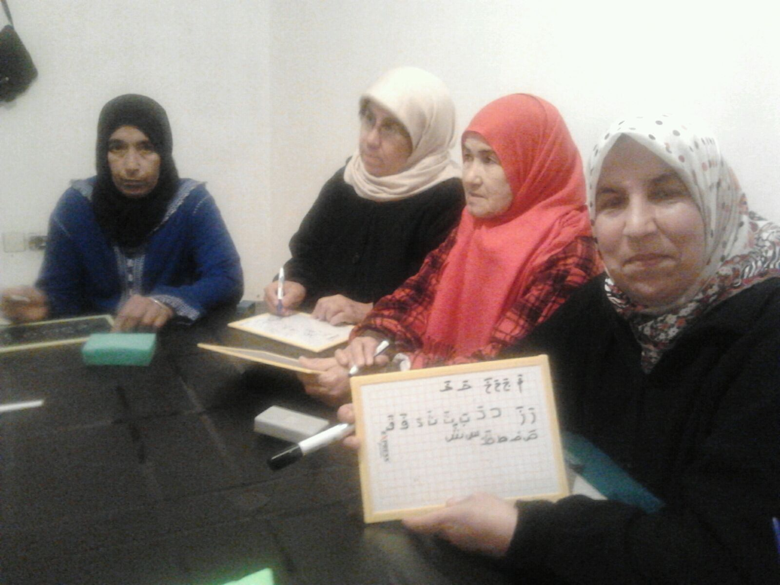 FTW Efforts Help 20 Illiterate Women Learn How to Read and Write at the Morocco Community Center
