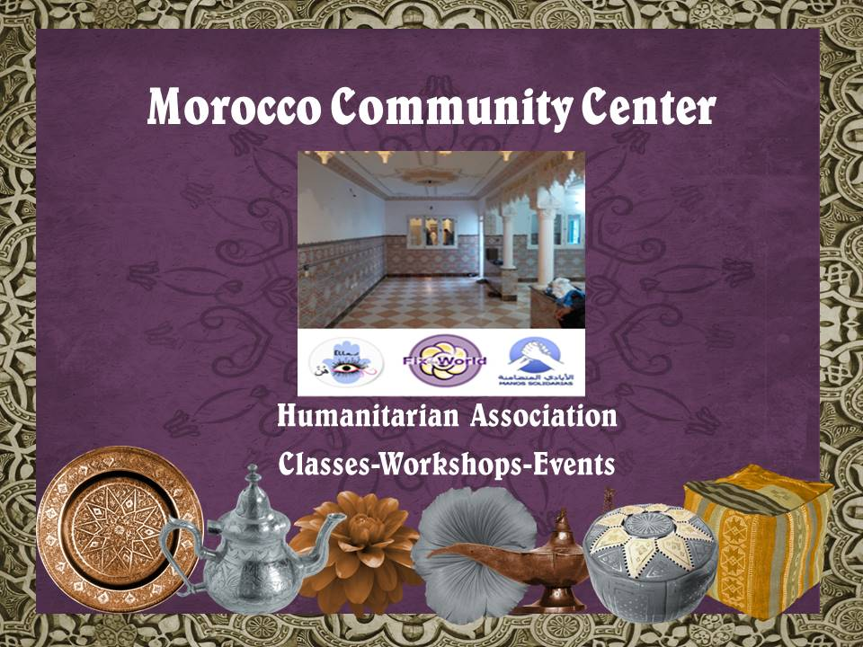 FTW To Open New Community Center for the Poor in Morocco.
