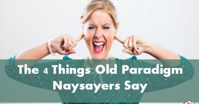 Things naysayers say