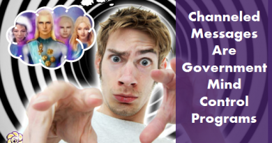 channeled messages are government mind control programs