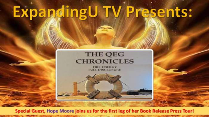 QEG Chronicles Interview. Hope Girl Speaks to Expanding U.