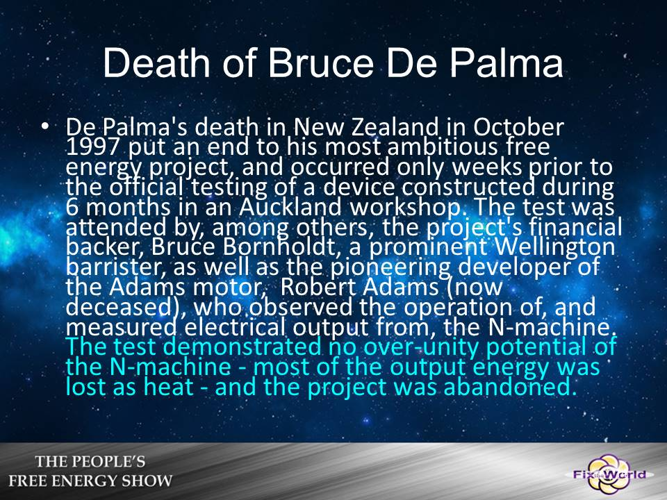 Death-of-Bruce-de-palma-2 Free Energy Mafia and the Dirty Games They Play.
