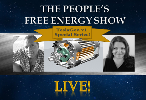 NEW SEASON! LIVE SHOWS! The Peoples Free Energy Show. Don't miss these incredible episodes!
