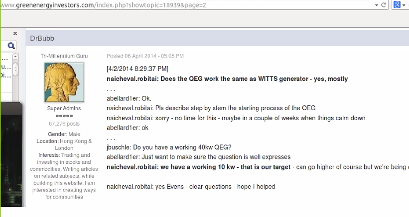 quote-from-TK QEG Rebuttal with Evidence. New Video Inventor James Robitaille Defends His Family.
