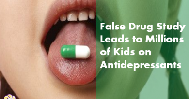 false drug study kids on antidepressants