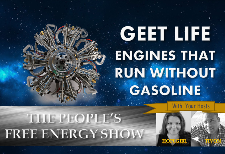 GEET Life. Engines that Run Without Gasoline!