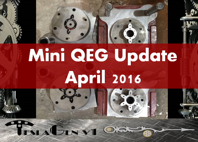 New Video! Mini QEG Update April 2016. The Latest From our Manufacturing Partners in China.