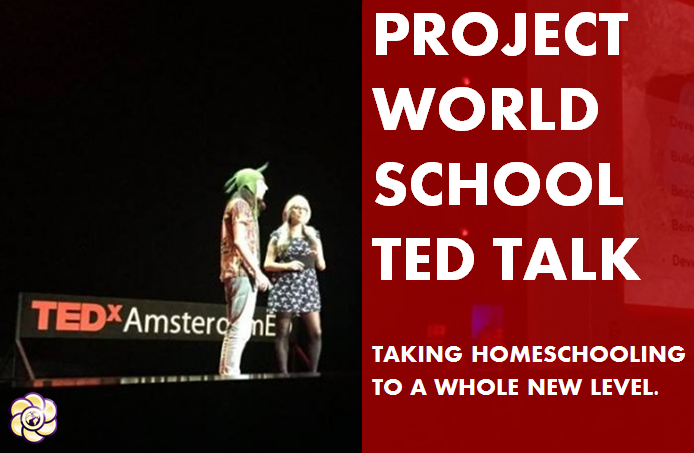 Project Word School Ted Talk Takes Homeschooling to a Whole New Level