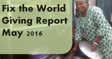 fix the world giving report May 2016
