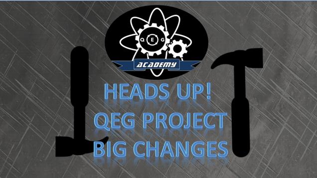 kqeg project changes