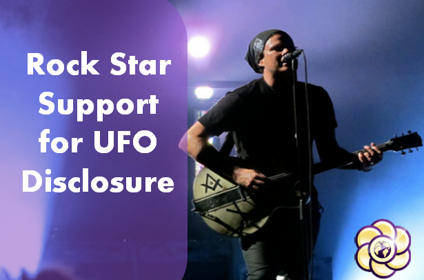 rock star support for ufo disclosure
