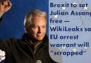 """Brexit to set Julian Assange free — WikiLeaks says EU arrest warrant will be """"scrapped"""""""