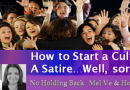 """Satire: How to Start a Cult on the """"No Holding Back Show"""""""