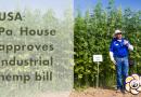 USA: Pa. House approves industrial hemp bill