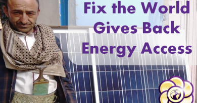 ftw gives back energy access