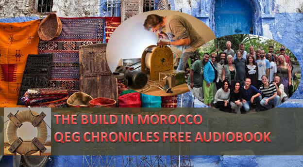 Eighty People from 24 Countries came to Morocco to Build a Free Energy Device. The Full Story in the QEG Chronicles.