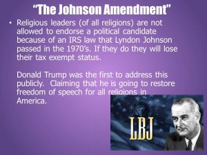 The-Johnson-Amendment-300x225 The Final Trump. A New Featurette Youtube Film by HopeGirl.