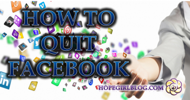 How to quit Facebook