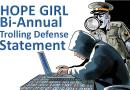 Hope Girl Bi-Annual Trolling Defense Statement