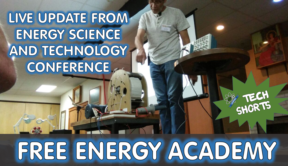 Updates on the QEG Live from the Energy Science and Technology conference. (Video)