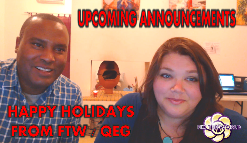 Happy New Year and Upcoming Announcements for FTW QEG 2018