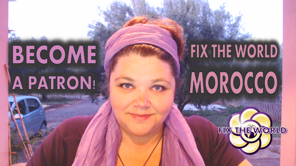 Become a Patron for Fix the World. New Video Blog and Orgonite Rewards!