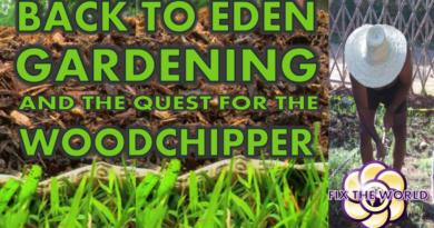 Back to Eden Gardening and Woodchips Hopegirl Vlog