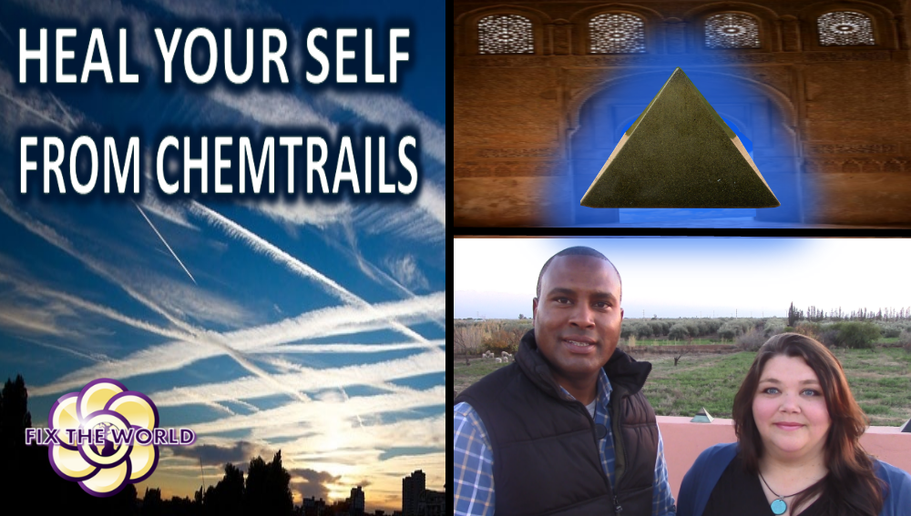 Heal Yourself From Chemtrails (Video)