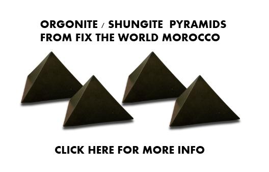 orgonite-shungite-pyramids-chemtrails Pyramid Shape Study and Chemtrails