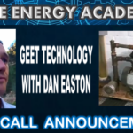 Learn all about GEET Technology this Sunday on a Live Call with Dan Easton.