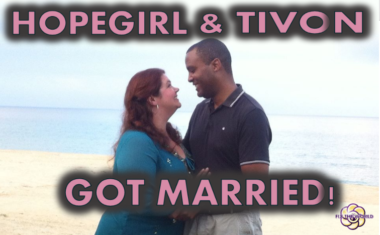 HopeGirl and Tivon Got Married!