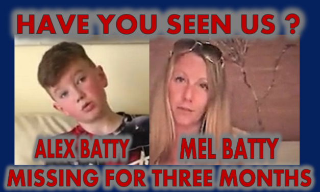 Please Help Us Find Mel Batty and Alex Batty. Missing for 3 Months.