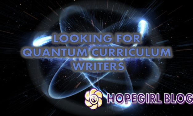 Looking for Quantum Curriculum Writers