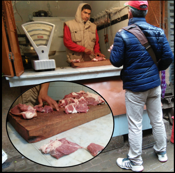 Marrakesh-Butcher Marrakesh Cooking Tours