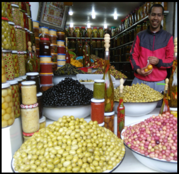 Marrakesh-Olive-Souk Marrakesh Cooking Tours
