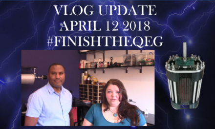 #FinishtheQEG Vlog Update April 12 2018
