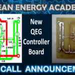 New QEG Controller Board Live Call