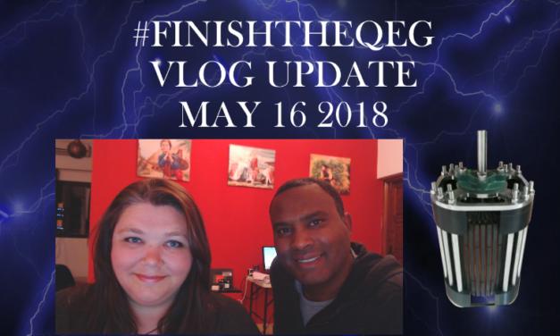 #FINISHTHEQEG Vlog Update May 16 2018