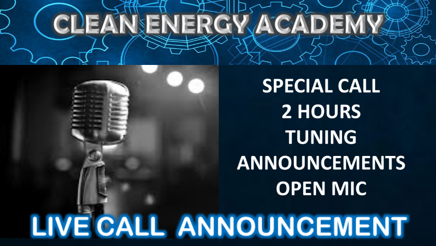 Live Call #14 – Special 2 (or more) hours with interactions (open mic)