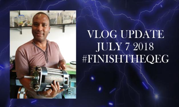 #FinishtheQEG Update July 7 2018
