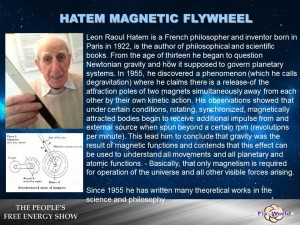 Hatem Magnetic flywheel