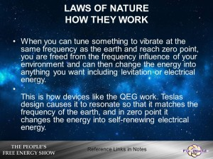 How the laws of nature work
