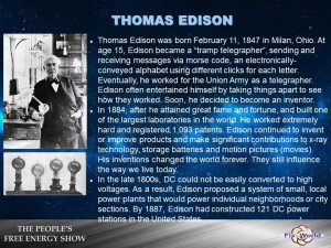 Thomas Edison and DC Current