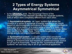 asymmetrical and symmetrical systems
