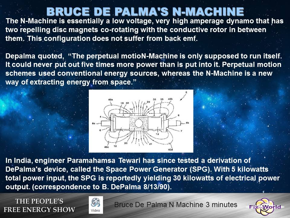 bruce-depalma-n-machine-2 Free Energy Mafia and the Dirty Games They Play.