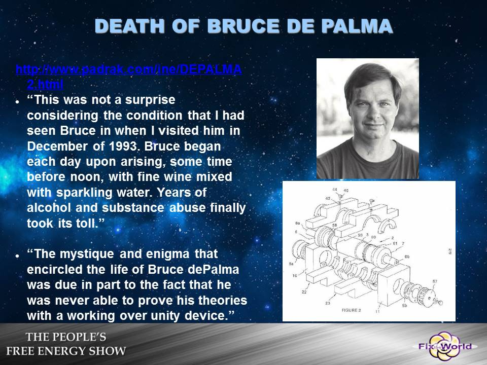 death-of-bruce-de-palma Free Energy Mafia and the Dirty Games They Play.