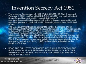 invention secrecy act 1951
