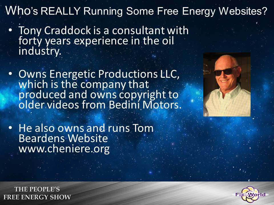 oil companies run free energy sites